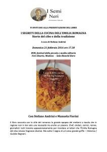 locandina I segreti dell'Emilia Romagna in Cucina buk 2016
